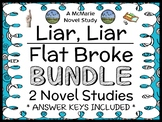 Liar, Liar | Flat Broke Bundle (Gary Paulsen) 2 Novel Studies / Comprehension