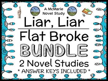 Liar, Liar | Flat Broke Bundle (Gary Paulsen) 2 Novel Stud