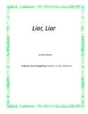 Liar, Liar Novel Unit Plus Grammar
