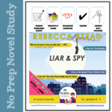 Liar & Spy (Liar and Spy) by Rebecca Stead Novel Study