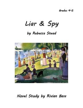 Liar & Spy novel study