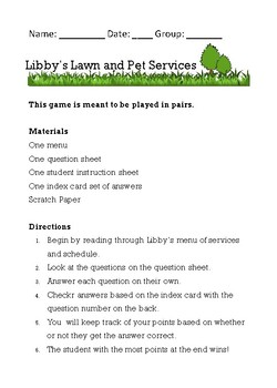 Libby's Lawn Service