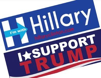 Liberal or Conservative Bumper Stickers:  Kids evaluate & decide