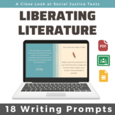 Liberating Literature: 18 Writing Prompts from Social Just