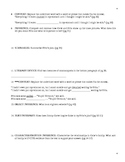 Liberation of Gabriel King - Novel Guide: Questions, Projects, Vocabulary Packet
