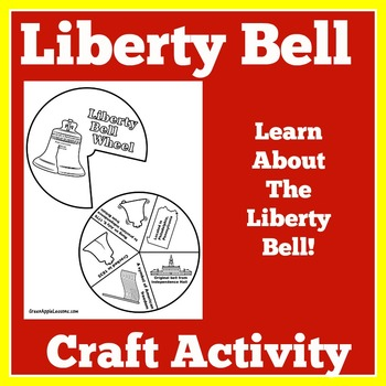 Liberty Bell Worksheet | Liberty Bell Craft | Liberty Bell Activity