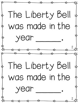 Liberty Bell Mini-Books