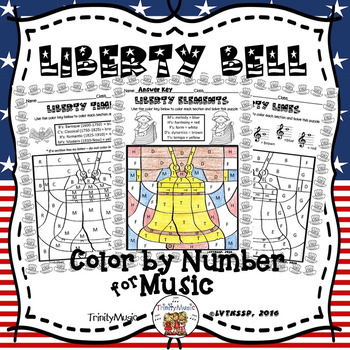Liberty Bell Color By Number (Music)