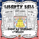 Liberty Bell Color By Symbol (Music)