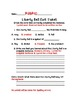 Liberty Bell Exit Ticket and Rubric Bundle