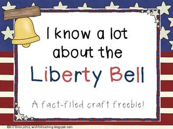 Liberty Bell Fact-ivity {FREEBIE}