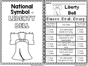 Liberty Bell Guess, Grab, and Grasp