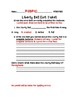 Liberty Bell MODIFIED Exit Ticket and Rubric Bundle