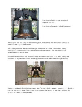 Liberty Bell Reading