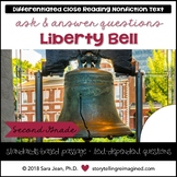 Liberty Bell Reading Comprehension Passage & Questions Close Reading
