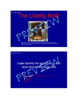 Liberty Bell Smartboard Activity
