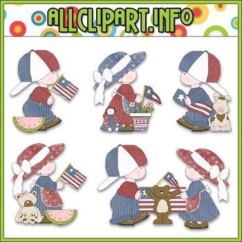 Liberty Kids Clip Art - Cheryl Seslar Clip Art