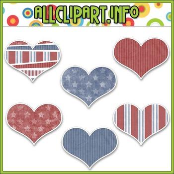 Liberty Kids Hearts Stickers