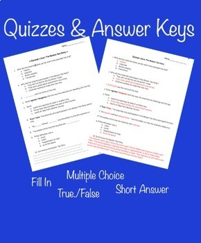 Liberty Kids Quizzes, Tests, Answer Key and Reflection Questions (Episode 11-20)