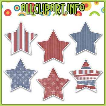Liberty Kids Stars Stickers