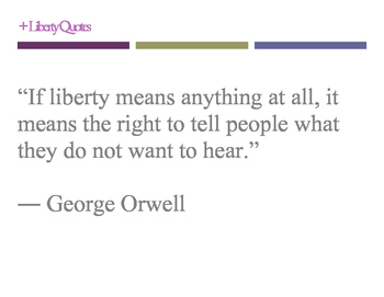 Liberty quotes posters!