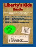 Liberty's Kids Companion Quizzes - BUNDLE - Episodes 6-10