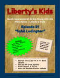 Liberty's Kids Companion Quizzes - Episode 21 - Sybil Ludington