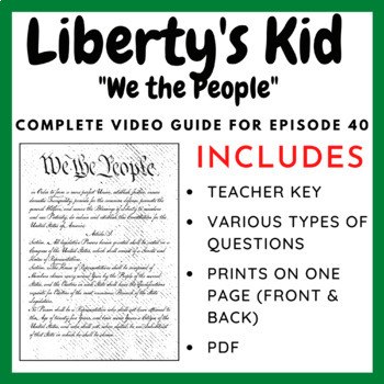 Liberty's Kids Episode 40: We the People