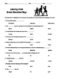 Liberty's Kids Episode 7 Green Mountain Boys Questions w/W