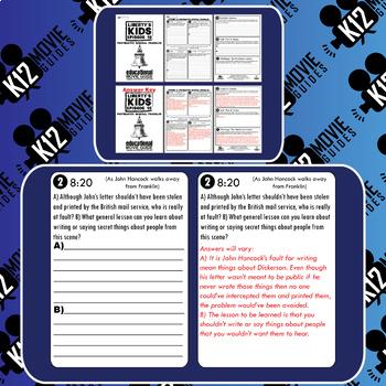 Liberty's Kids - Postmaster General Franklin (E10) - Movie Guide | Worksheet