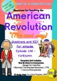 Liberty's Kids episode 136 - Yorktown - questions & KEY