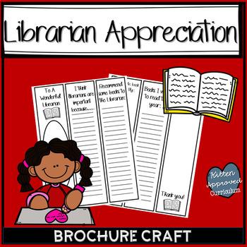 Librarian Appreciation Day Gift Brochure