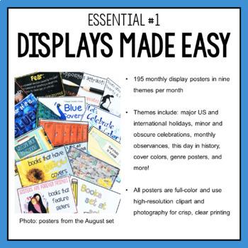 Elementary Librarian Back To School Essentials Bundle