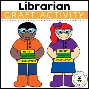 Community Helper Craft {Librarian}