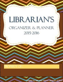 Librarian Planner & Organizer 2015-2016