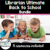 Librarian Ultimate Back to School Bundle for the School Library