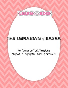 Librarian of Basra Performance Task Bookmark