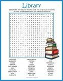 Library Word Search Puzzle
