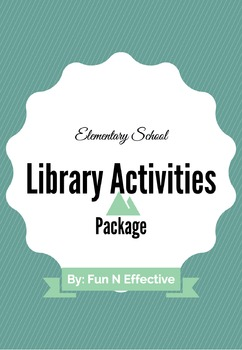 Unique and Original Library Activities Package #1