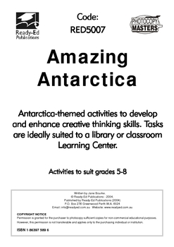 Library Activity Book: Amazing Antarctica