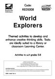 Library Activity Book: World Explorers