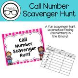 Call Number Scavenger Hunt