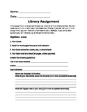 Library Assignment