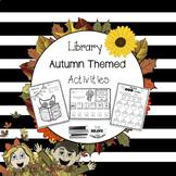 Library Autumn Themed Activities