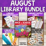 Library Back to School BUNDLE