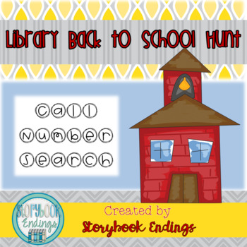 Library Back to School Hunt