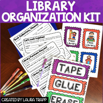 Library Back to School Tool Kit BUNDLE