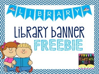 Library Banner {FREEBIE}