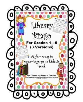 Library Bingo