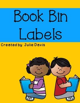 Library Book Basket Labels & Book Labels